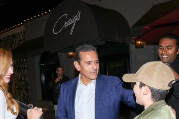 Antonio Villaraigosa Antonio Villaraigosa Is Seen Outside Craig's Restaurant