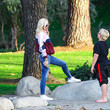 Apollo Rossdale Gwen Stefani Rocks Her Signature Casual Look While Out In L.A.