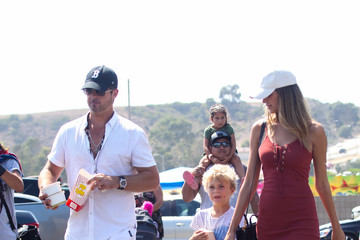 April Love Geary Robin Thicke Attends the Malibu Chili Cook-Off