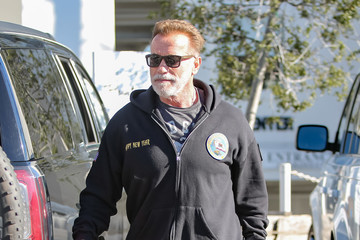 Arnold Schwarzenegger Arnold Schwarzenegger out and about with daughter Katherine