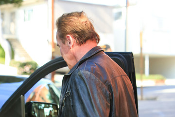 Arnold Schwarzenegger Arnold Schwarzenegger Hangs Out in L.A.