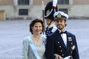 Arrivals to the wedding of Princess Madeleine of Sweden to Chris O'Neill.