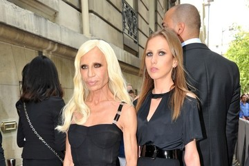 Allegra Versace Arrivals for Dior Couture