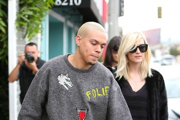 Ashlee Simpson Ashlee Simpson and Evan Ross Go Shopping