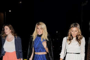 Ashley Roberts Celebrities Attend Taylor Morris Party