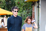 Ashley Tisdale and Christopher French are seen in Los Angeles, California.