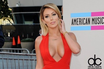 Aubrey O'Day Arrivals at the American Music Awards