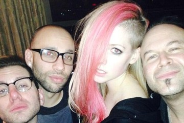 Avril Lavigne Celebrity Social Media Pics