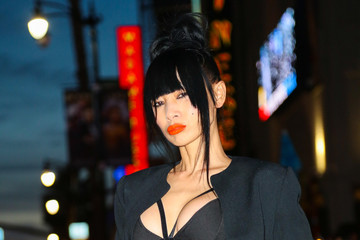 Bai Ling Bai Ling Walks Down Hollywood Blvd.