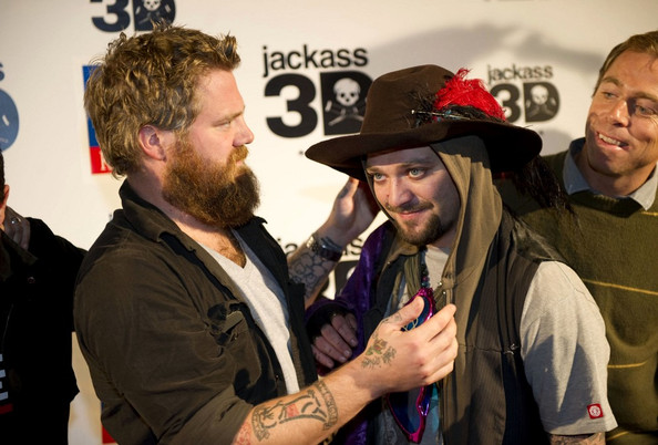 "Bam Margera and Ryan Dunn - ""Jackass 3D"" in Madrid. ""Jackass 3D"" in Madrid"