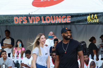 Baron Davis Celebrities Attend the 8th Annual Nike Basketball 3ON3 Tournament at Microsoft Square
