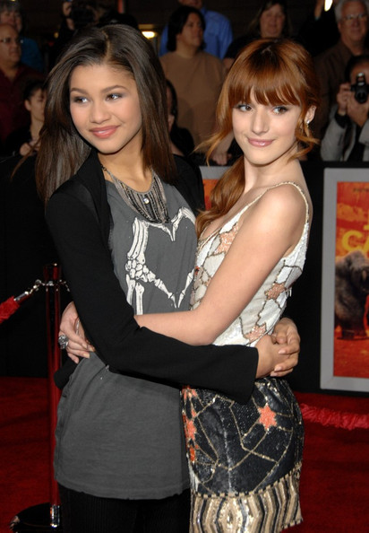 Zendaya Coleman and Bella Thorne - The 'John Carter' Premiere