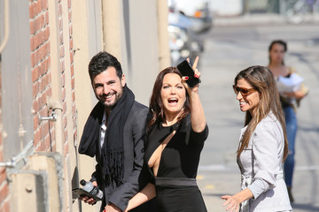 Bellamy Young Bellamy Young At 'Jimmy Kimmel Live'