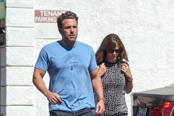 Ben Affleck Ben Affleck and Family Out and About