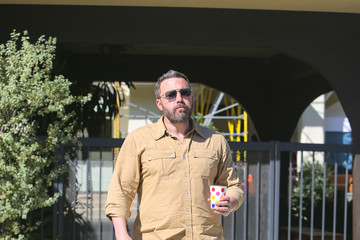 Ben Affleck Ben Affleck Lunches In L.A.