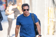 Ben Stiller is seen at 'Jimmy Kimmel Live' in Los Angeles, California.