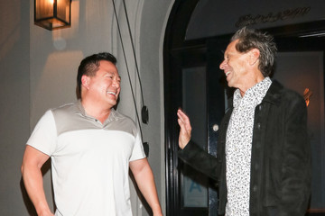 Benedict Wong Brian Grazer Is Seen Outside Craig's Restaurant In West Hollywood
