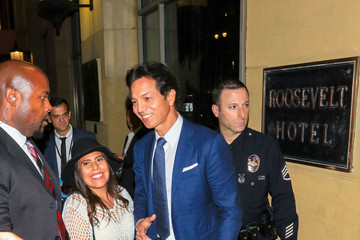 Benjamin Bratt Benjamin Bratt Is Seen Arriving to the 'Coco' Premiere at El Capitan Theatre