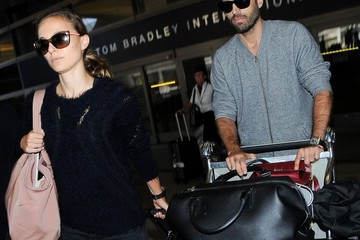 Benjamin Millepied Natalie Portman and Benjamin Millepied Travel