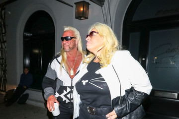 Beth Chapman Duane Chapman Outside Craig's Restaurant In West Hollywood