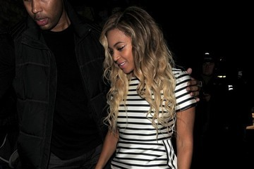 Beyonce Knowles Beyonce Knowles Enjoys a Night Out
