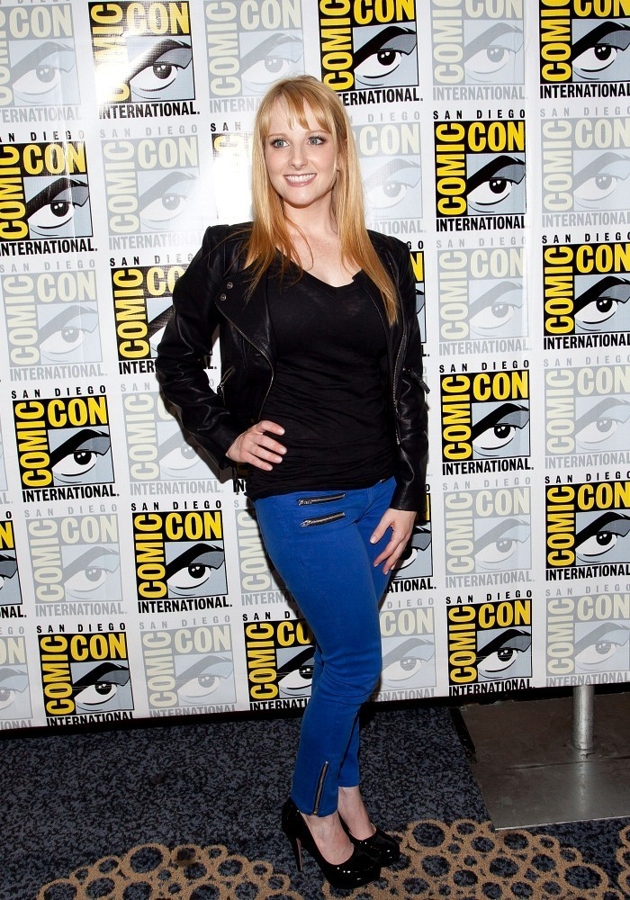 Image result for melissa rauch at comic