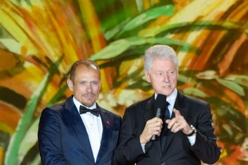 Bill Clinton Life Ball 2014