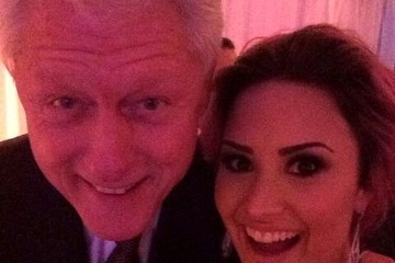 Bill Clinton Celebrity Social Media Pics