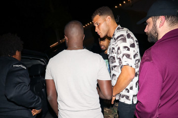 Blake Griffin Blake Griffin Is Seen Outside Craig's Restaurant In West Hollywood