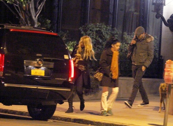 Blake Lively And Ryan Reynolds Leave His Apartment