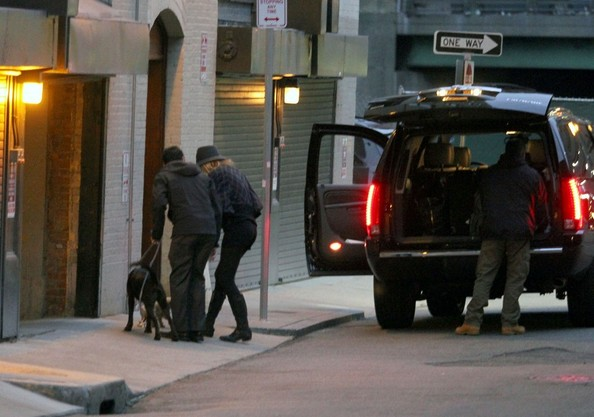 Blake Lively Unloads Her Dogs