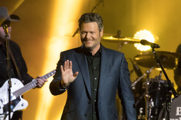 Blake Shelton Blake Shelton at 'Jimmy Kimmel Live'