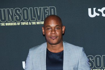 Bokeem Woodbine Premiere Of USA Network's 'Unsolved: The Murders Of Tupac And The Notorious B.I.G.'