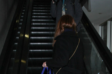 Bonnie Wright Bonnie Wright Is Seen at LAX