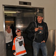 Jaden Boreanaz David Boreanaz and His Family at LAX