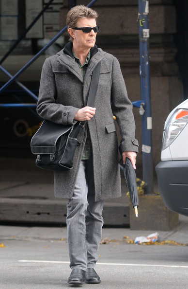 David bowie in david bowie leaves his apartment 1 of 5 for David bowie nyc apartment