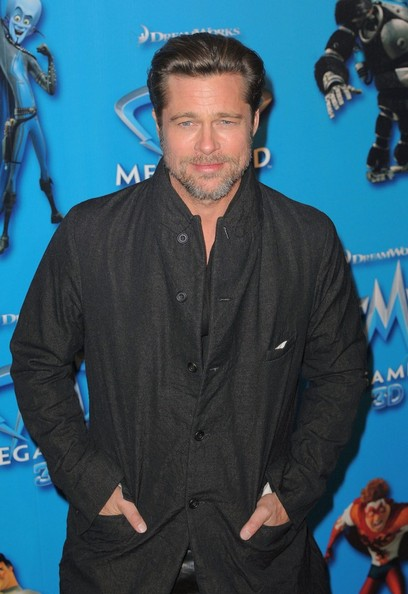 Brad Pitt 'Megamind' premiere held at the UGC Normandie Cinema.