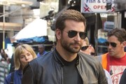 Bradley Cooper and Sienne Miller Get to Work