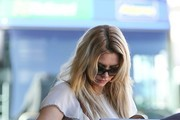 Brandi Glanville seen at LAX