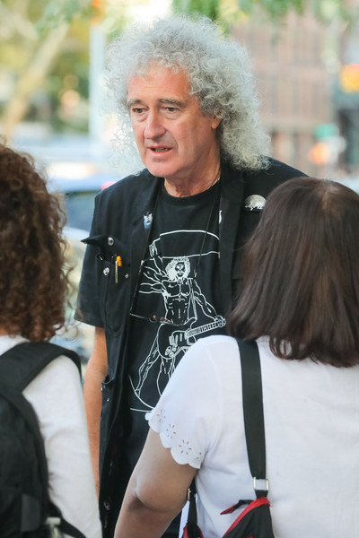 Brian May Seen In NYC
