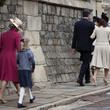 Lady Louise British Royal Family Attend Easter Church Service