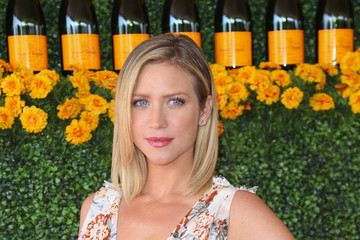 Brittany Snow Celebrities Arrive at the Sixth-Annual Veuve Clicquot Polo Classic