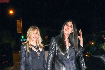 Brittny Gastineau Lisa Gastineau Outside Craig's Restaurant In West Hollywood