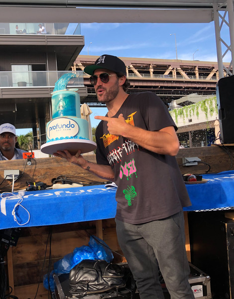 Brody Jenner DJing For His Birthday In New York