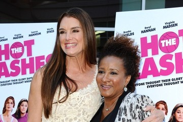 Brooke Shields Wanda Sykes 'The Hot Flashes' Premieres in Hollywood