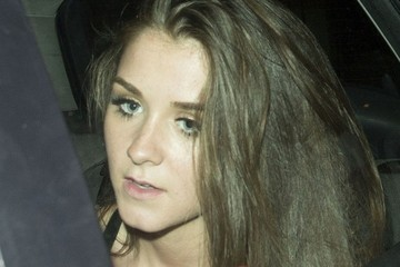 Brooke Vincent Brooke Vincent Laughs On Her Way Home