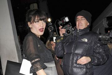 Daisy Lowe Browns Focus Halloween party