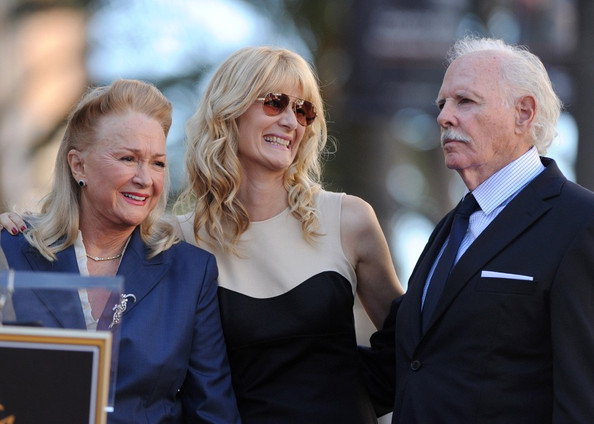 Bruce Dern, Laura Dern and Diane Ladd honored with star on the Hollywood Walk of Fame. Hollywood, CA.November 1, 2010.