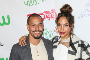 Bryton James Celebrities Attend the 84th Annual Hollywood Christmas Parade