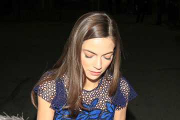 Caitlin Carver Celebrities Outside the 'I, Tonya' Premiere at Egyptian Theatre